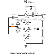 circuit diagram led torch images torch light gif a simple led diagram how to build a simple hi efficiency led torch circuit at home