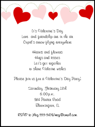 Valentines Day Party Invitations Sansalvaje Com