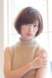 小顔 ミルクティー ショート 大人かわいいgardenharajuku 高橋苗