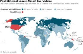 World Maternity Leave Chart Countries With Paid Maternity Leave Dataisbeautiful