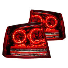 Red Oracle Lights Oracle Lighting 7024 001 Chrome Red Factory Style Tail Lights