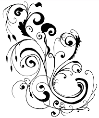 Art Designs Black And White Flowers Pictures Cliparts Co For Flower Art Design