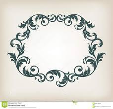 filigree pattern vector
