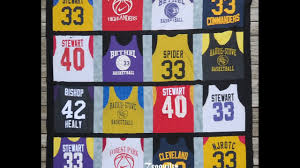 Quilt With Me: Basketball Jersey Quilt Part 2 - YouTube & Quilt With Me: Basketball Jersey Quilt Part 2 Adamdwight.com