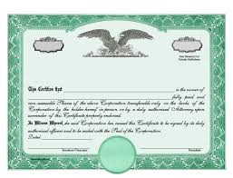 Stock Certificats Is My Company Required To Issue Paper Stock Certificates Pharoslaw