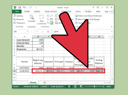 Amortization Schedule With Balloon As Well Payment Excel Formula