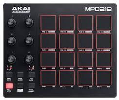 Купить USB/<b>MIDI КОНТРОЛЛЕР AKAI PRO</b> MPD218 с бесплатной ...