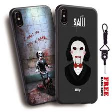 Jigsaw Quotes New Saw Movie Jigsaw Quotes Movie Poster Tpu Soft Silicone Phone Case