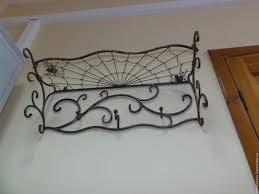 wall clothes hanger artistic forging nemkova