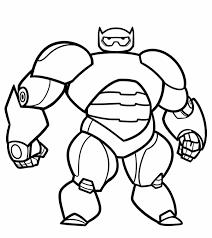 Kleurplaat Big Hero 6 21