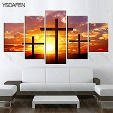 large premium quality canvas printed wall art poster 5 pieces 5 pannel wall on large christian canvas wall art with amazon large premium quality canvas printed wall art poster 5