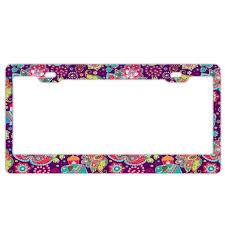 Show Plate Designer Amazon Com Bbhuhu Designer License Plate Frame Stainless