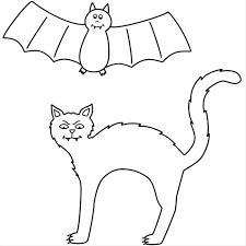 Small Picture With Bats Coloring Page Free Printable Bat And Spiders Pages Bat
