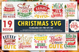Included are 1 svg, 1 dxf, and 1 eps files that are ready for your cutting machine. Christmas Quotes Bundle Vol 3 Graphic By Printablesvg Creative Fabrica