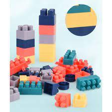 ĐỒ CHƠI XẾP HÌNH, LEGO nhựa cao cấp 520 chi tiết LỚN.