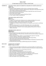 Certified Nursing Assistant Resume Examples Certified Nurse Assistant Resume Samples Velvet Jobs 22