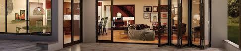 milgard glass wall system accordion doors