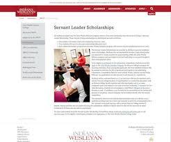 leadership scholarship essay