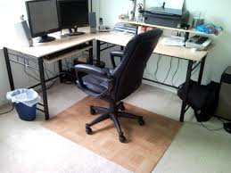 full size of chair square beige bamboo office mat for carpet protector black leather staples l