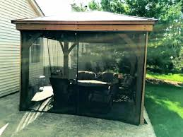 screened gazebo full size of decoration wood kits round outdoor screen house wooden plans scr
