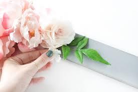diy bridal shower fl photo booth frame