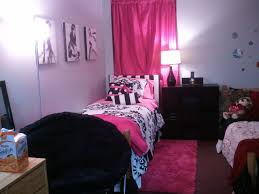 Pink And Black Girls Bedroom Bedroom Pretty Teen Girls Bedroom Ideas With Pink Striped Wall