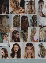 G Nial Coiffure Cheveux Detache De Mariee Laches Lisse 1