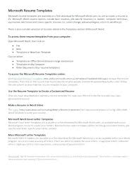 Download Resume Templates For Microsoft Word 2010 Resume Templates On Word 2010 Resume Template Word Model Resume