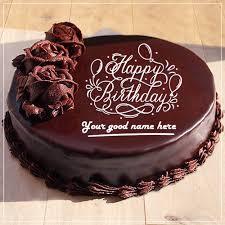 Write Name On Birthday Cakes