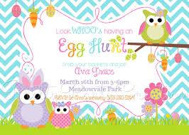 Free Printable Easter Invitation Templates Easter Egg Hunt