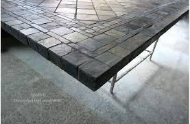 slate patio table slate outdoor dining table genuine stone slate cm round slate patio dining slate