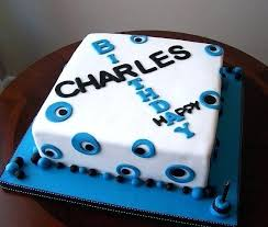 Guys Birthday Cake Decorating Ideas For Men Male Stay At Home Mum
