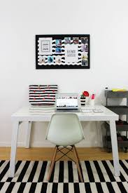 home office world. Black \u0026 White Office Makeover Via Lipgloss And Crayons - Discover, A Blog By World Home N