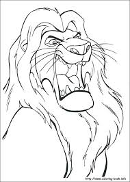 lion king free printable coloring pages the picture 2 book