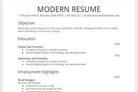 Resume Templates Google Docs In English