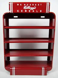 Kellogg's Cereal Display Stand Restored Kellogg's Metal Cereal Store Display Stand Antiques 2