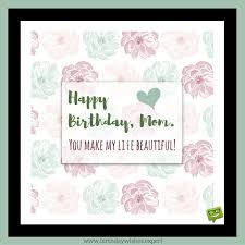 Mother Birthday Quotes Beauteous Best Mom In The World Birthday Wishes For Your Mother