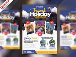 Tour Travel Flyer Psd Template Psdfreebies Com