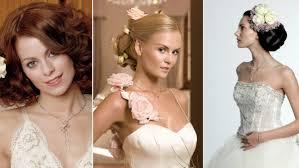 Dokonalé Svatební účesy Zapleťte Si Do Vlasů Květiny Domacz