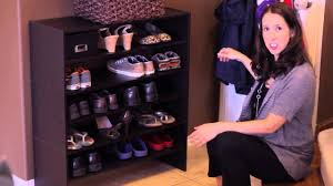 how to shoes in a small space home organization