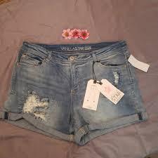 Vanilla Star Distressed Cuffed Jeans Nwt