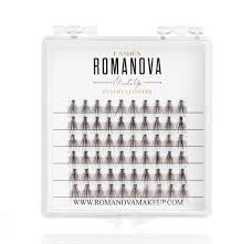 <b>Romanovamakeup Пучки</b> ресниц M <b>M</b>-<b>Short Mini</b> - Купить в ...