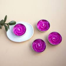 Rose Scented Tea Lights Pink Rose Scented Tea Lights Thang Tho Ltd