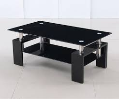 17 Modern Black Glass Coffee Tables Good Ideas