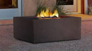 wood burning and propane fire pit ideas