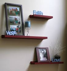 diy unique stacking wall shelves decorating ideas