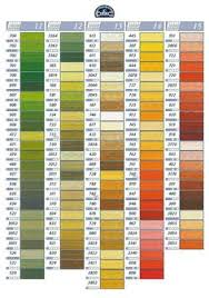 Embroidery Floss Number Chart 7 Best Dmc Floss Color Chart And Numbers Chart 2 Images