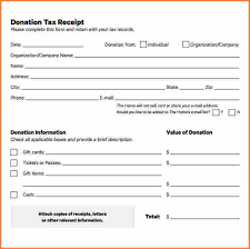 donation receipt forms 9 donation receipt for tax purposes return receipt form