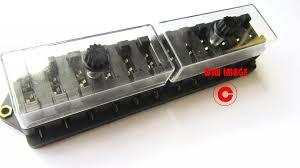 2 4 6 8 10 12 way heavy duty auto fuse box holder 12v volt 2 4 6 8 10 12 way heavy