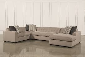 Of Sectionals In Living Rooms Shop Sectional Sofas Leather Sectionals Living Spaces